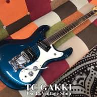 Mosrite 1966 The Ventures Model   Ink Blue for sale