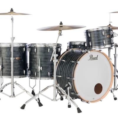 STS1208T/C762 Pearl Session Studio Select 12x8 Tom MOLTEN MATTE BLACK PEARL