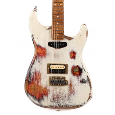 Paoletti Stratospheric Loft Series HS Music Zoo Exclusive Aged White over Sunburst Used for sale