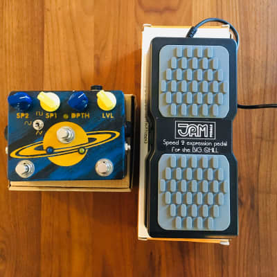 JAM Pedals The Big Chill + EXP pedal