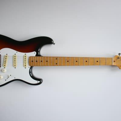 """Fender Japan Stratocaster, 57"""" Reissue, 1989, Sunburst, Custom Order Made, Beautiful!"""