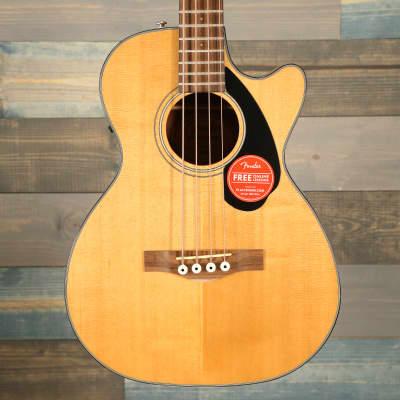 Fender CB-60SCE Bass, Laurel Fingerboard, Natural for sale