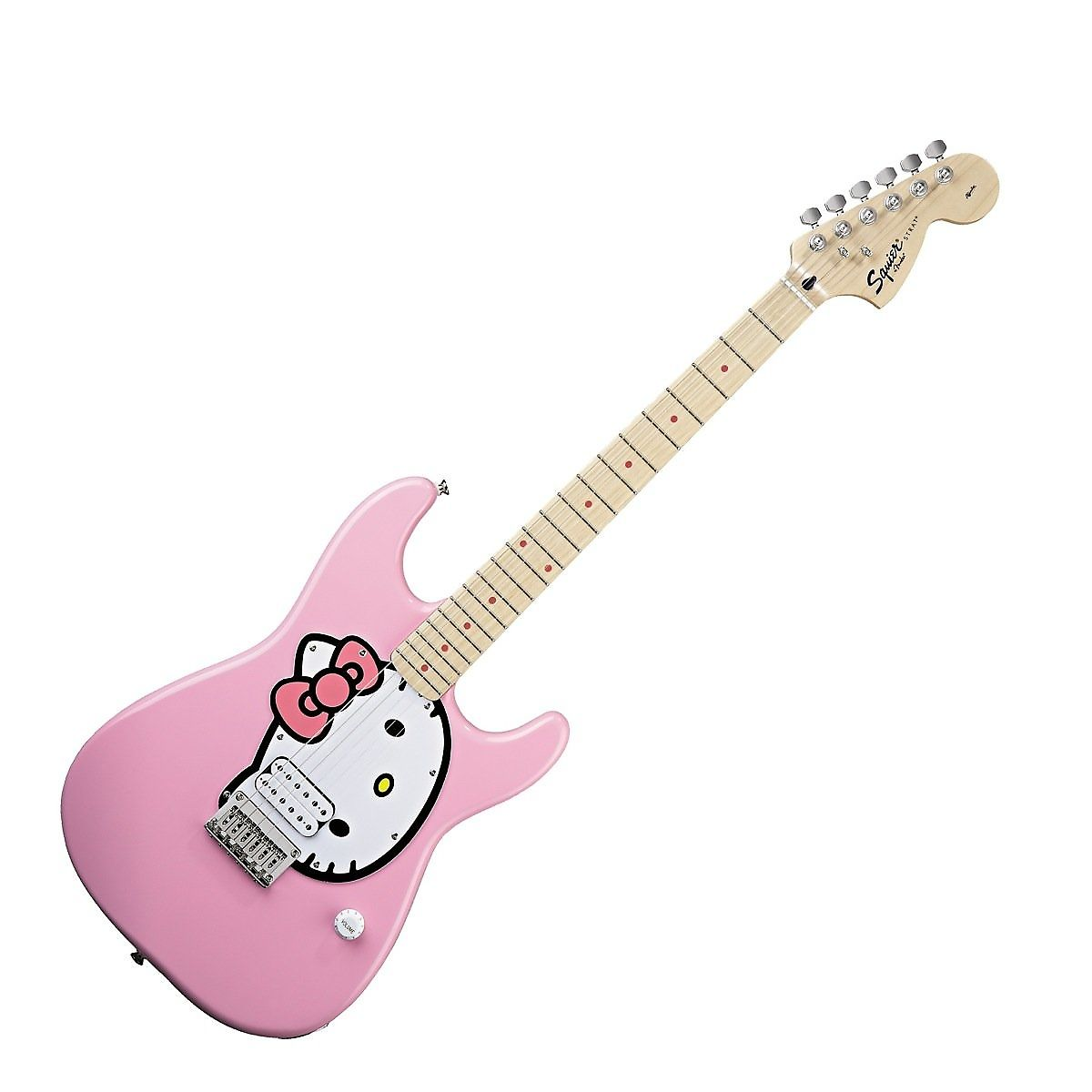 Squier Hello Kitty Stratocaster Pink | Reverb