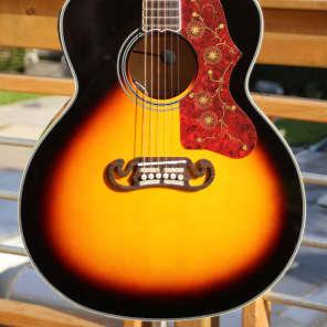 Fishbone  Acoustic Jumbo BLK200  Tobacco Sunburst for sale