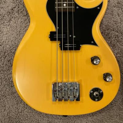 Reverend Mike Watt Wattplower Bass Satin Yellow for sale