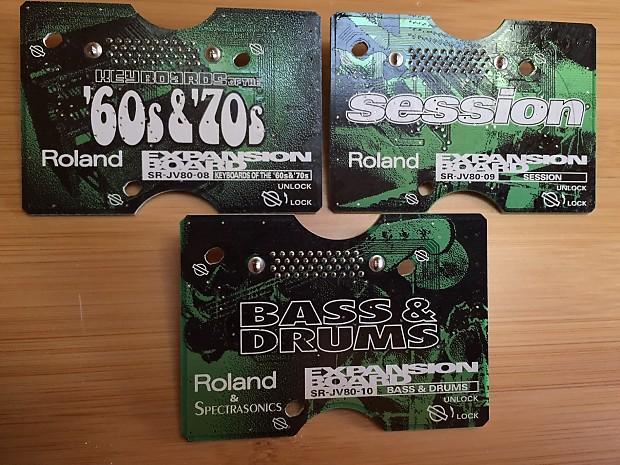 Roland Roland SR-JV Expansion Boards | MadGear