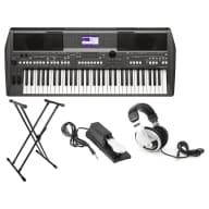 Yamaha PSR-S670 61-Key Arranger Workstation Bundle