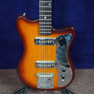 Palmer Electric Guitar 1960s Tobacco Burst for sale