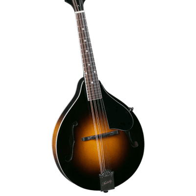 Kentucky KM-150 Standard A-Model Mandolin WITH Matching Kentucky Deluxe Gig Bag - Vintage Sunburst for sale