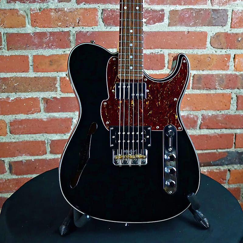 fret king country squire semitone 2010 39 s black reverb. Black Bedroom Furniture Sets. Home Design Ideas