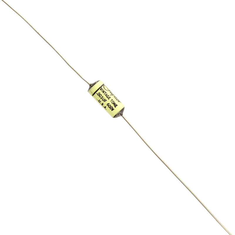 0.003µf @ 600V Jupiter Vintage Tone Astron style capacitor