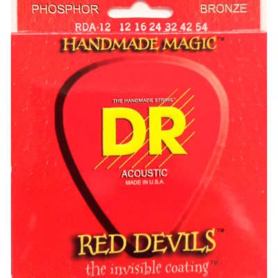 DR Strings DR Strings Red Devils - Red Coated Acoustic Guitar Strings,12, 16, 24, 32, 42, 54 for sale