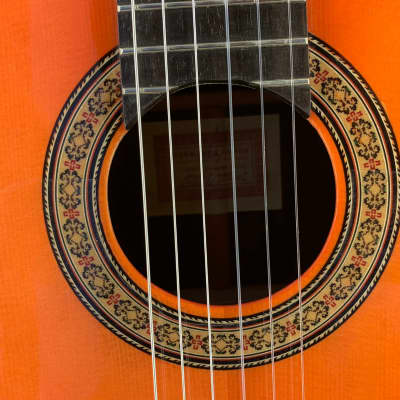 Flamenco Guitar Conde Hermanos 1a Media Luna for sale