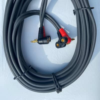 Planet Waves Dual Banana Speaker Cable, 25 foot mid-2000s black