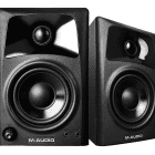 M-Audio AV32 - Compact Monitor Speakers for Professional-Quality Media Creation image