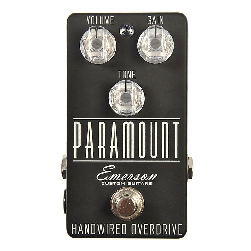 emerson custom paramount mk 2 guitar effects pedal reverb. Black Bedroom Furniture Sets. Home Design Ideas