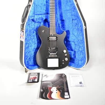 2020 Manson MA EVO MIDI Dry Satin Black Finish Electric Guitar w/OHSC for sale