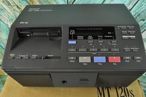 nos roland mt 120s mt120s midi digital sequencer sound module reverb. Black Bedroom Furniture Sets. Home Design Ideas