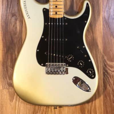 Fender 25th Anniversary Stratocaster 1979 Silver Green for sale