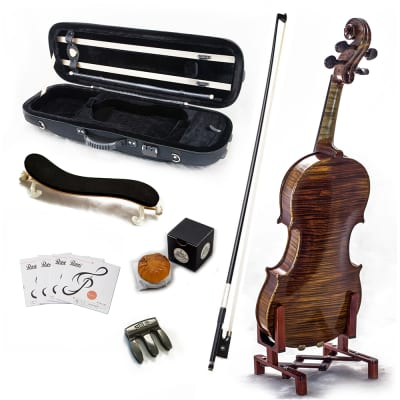 SKY AAA+ Maple 4/4 Size VN515 Violin Grand Master Series Professional Fiddle NEW