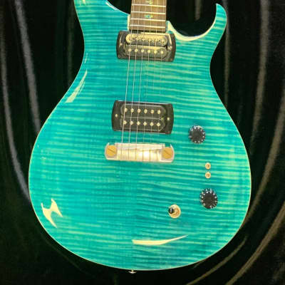 2019 PRS Paul's Guitar SE  Aqua Finish In Stock w/ Deluxe PRS Gig Bag Free Shipping for sale