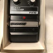 Vintage DOD Bi-Fet Preamp FX-10 1980s Black