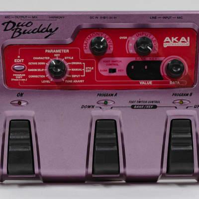 Akai HV1 Duobuddy Harmony Vocal Effect Pedal for sale