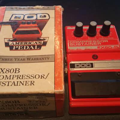 DOD FX80B Compressor Sustainer Pedal W/Original Box for sale