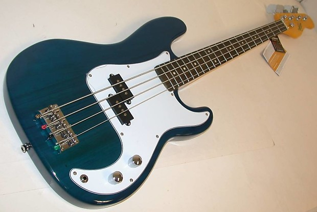 oscar schmidt by washburn p style electric bass guitar trans reverb. Black Bedroom Furniture Sets. Home Design Ideas