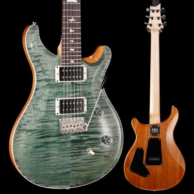 PRS Paul Reed Smith CE24 Bolt-On, Pattern Thin, Trampas Green 505 7lbs 4.8oz for sale