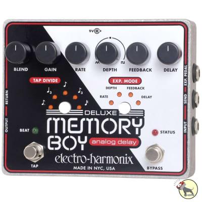 Electro-Harmonix Deluxe Memory Boy Analog Delay with Tap Tempo Pedal