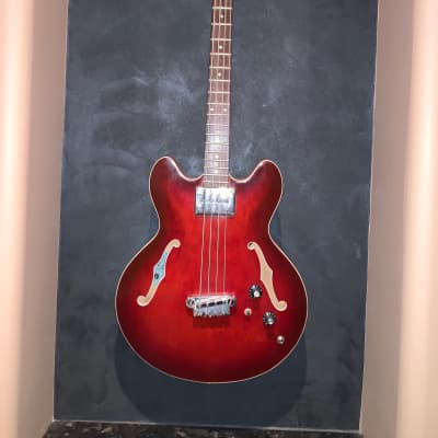 Epiphone Rivoli Bass 1967 Red for sale