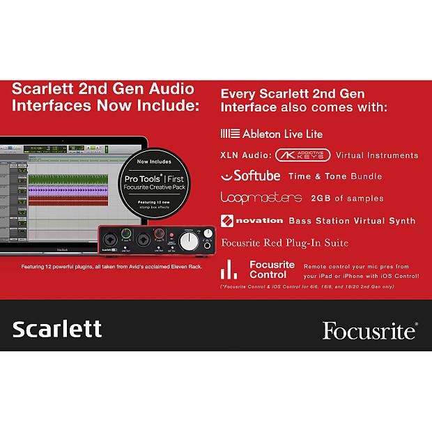 focusrite focusrite scarlett solo studio pack 2nd reverb. Black Bedroom Furniture Sets. Home Design Ideas