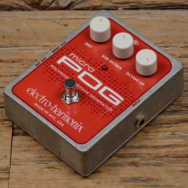 electro harmonix micro pog used chicago music exchange reverb. Black Bedroom Furniture Sets. Home Design Ideas