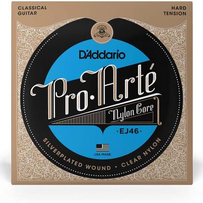 D'Addario Pro-Arte Nylon Classical Guitar Strings - EJ46 Hard Tension