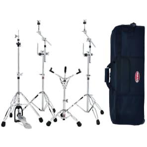 "Gibraltar 57GIG-PK 5700 Series Drum Hardware Gig Pack w/ 33"" Rolling Bag"