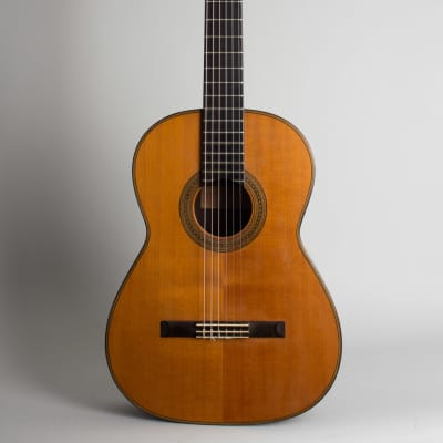Del Pilar  Classical Guitar (1954), period hard shell case. for sale