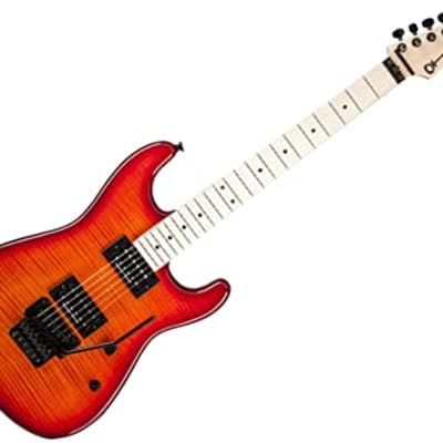Charvel San Dimas Style 1 HH - Maple Fingerboard - Red Burst for sale