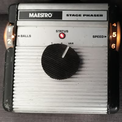 Vintage 1977 Maestro MSP Stage Phaser Made in USA by Moog (Norlin Era) for sale