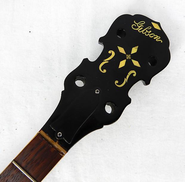 Gibson TB-3 Mastertone Tenor Banjo Neck 1930's Natural