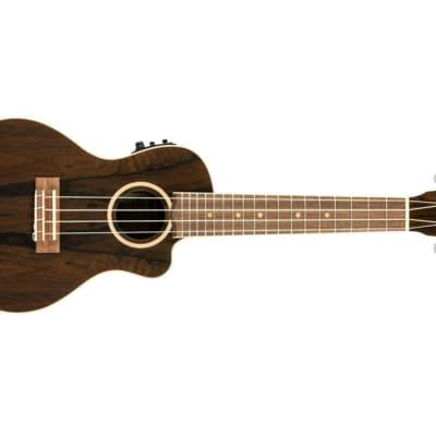 Lanikai Ziricote Concert Acoustic-Electric Ukulele for sale