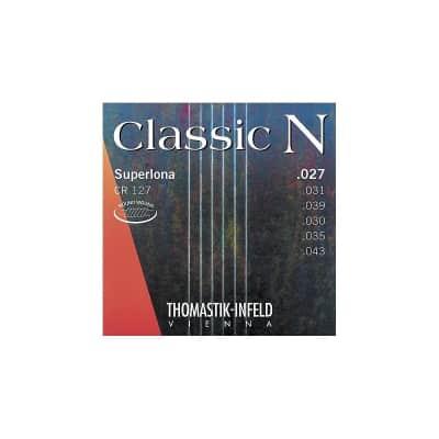Thomastik-Infeld CR127 Classic N Superlona Plain Nylon Acoustic Guitar Strings - Light (.27 - .43)