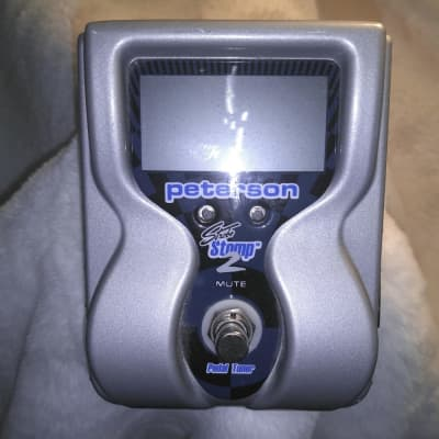Peterson VS-S2 StroboStomp 2 Strobe Pedal Tuner for sale