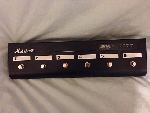 Marshall JVM 6-Way Footcontroller