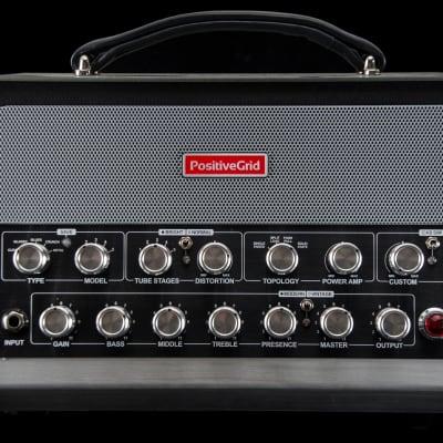 Positive Grid BIAS Powered Guitar / Bass Amp Head 600 Watts for sale