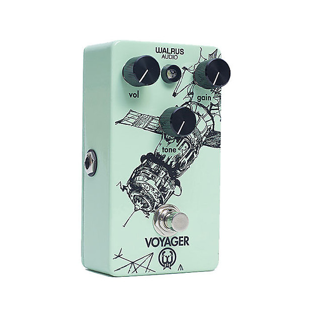 walrus audio voyager preamp overdrive mass street music reverb. Black Bedroom Furniture Sets. Home Design Ideas