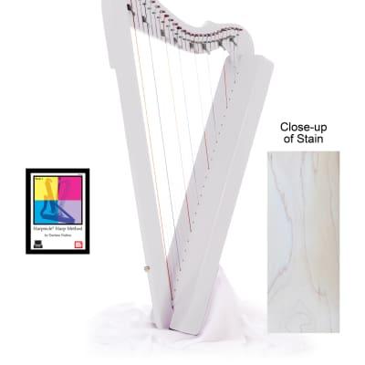 Flatsicle Harp w/ Book & DVD - White