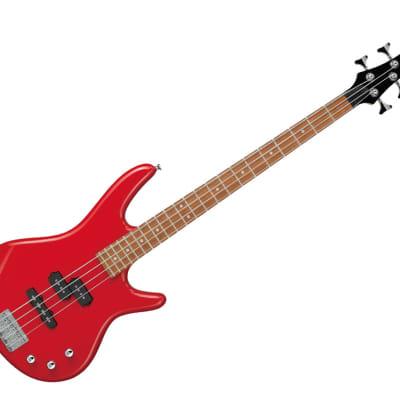 Ibanez Package SR 4str Solid Body Electric Bass Guitar - Jatoba/Red - IJSR190NRD for sale