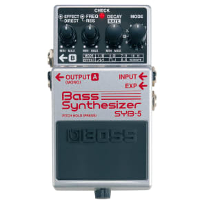 BOSS SYB-5 Bass Synthesizer Effect Pedal with DSP