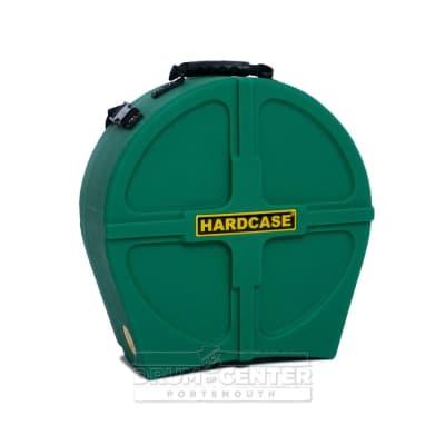 """Hardcase Snare Drum Case 14"""" Dark Green"""
